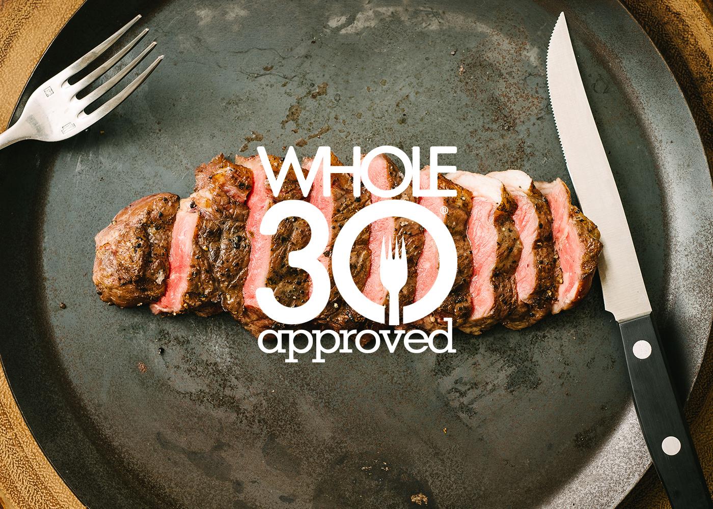 whole 30 bison steak