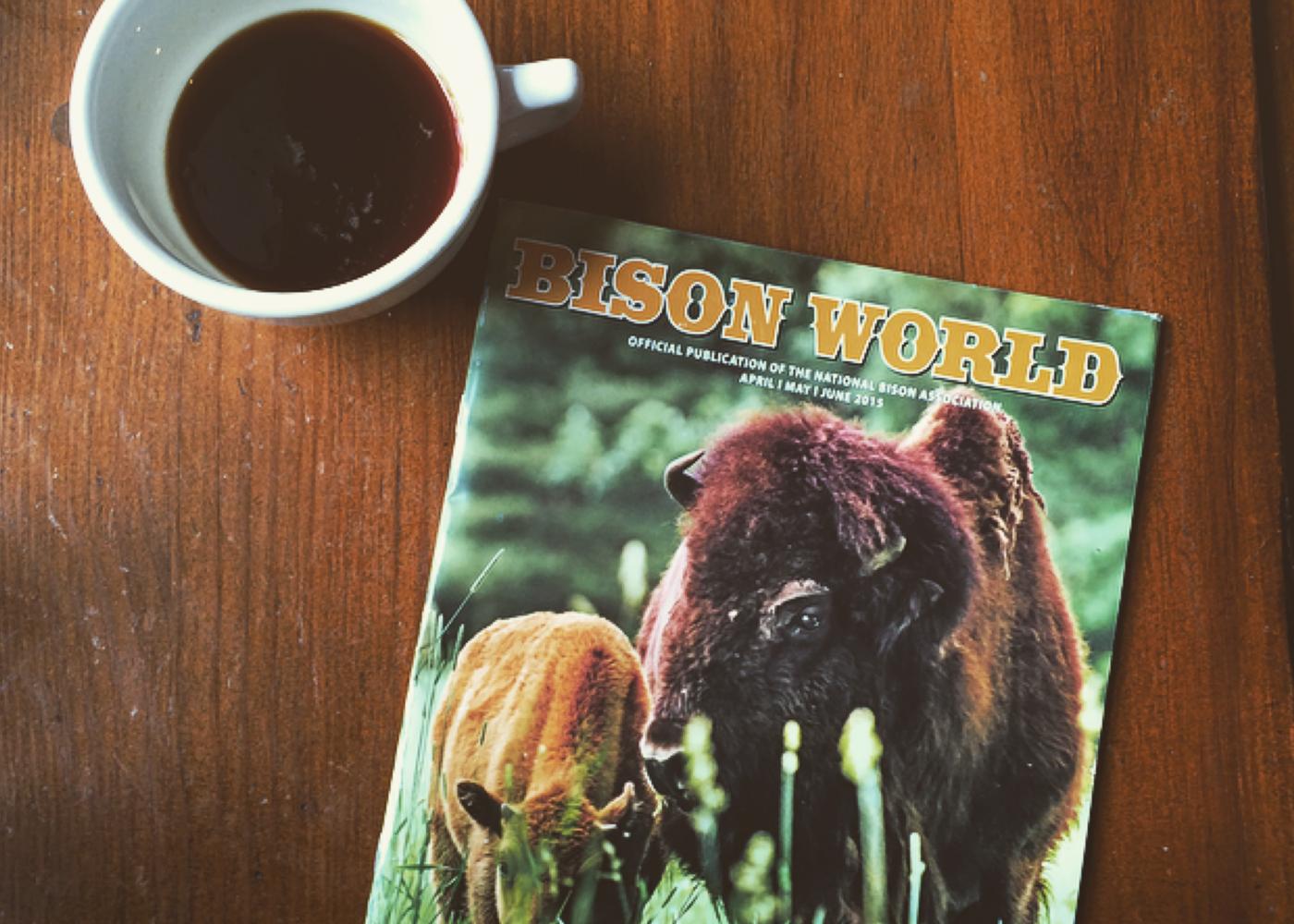 Bison World magazine